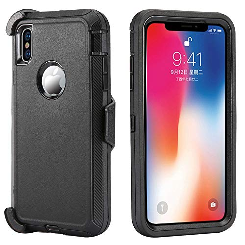 CASES: IPHONE XS MAX RUGGED CASE WITH BELT CLIP