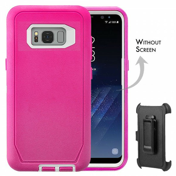 CASES: SAMSUNG GALAXY S8 PLUS RUGGED CASE WITH BELT CLIP