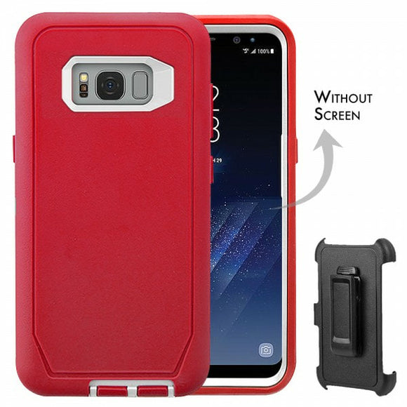 CASES: SAMSUNG GALAXY S8 RUGGED CASE WITH BELT CLIP
