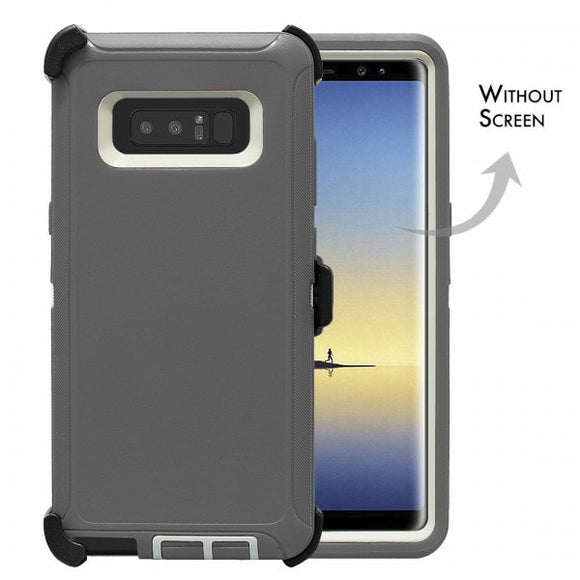 CASES: SAMSUNG NOTE 8 RUGGED CASE WITH BELT CLIP