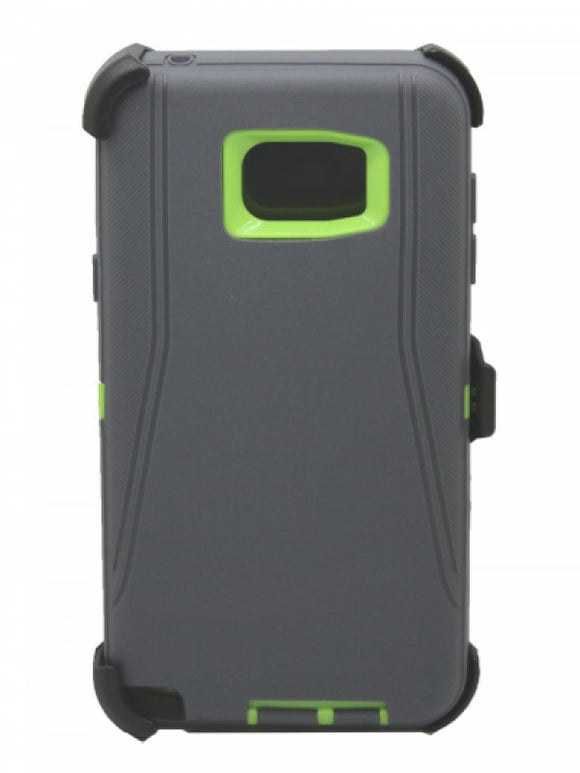 CASES: SAMSUNG NOTE 5 RUGGED CASE WITH BELT CLIP