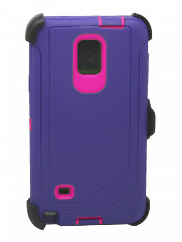 CASES: SAMSUNG NOTE 4 RUGGED CASE WITH BELT CLIP