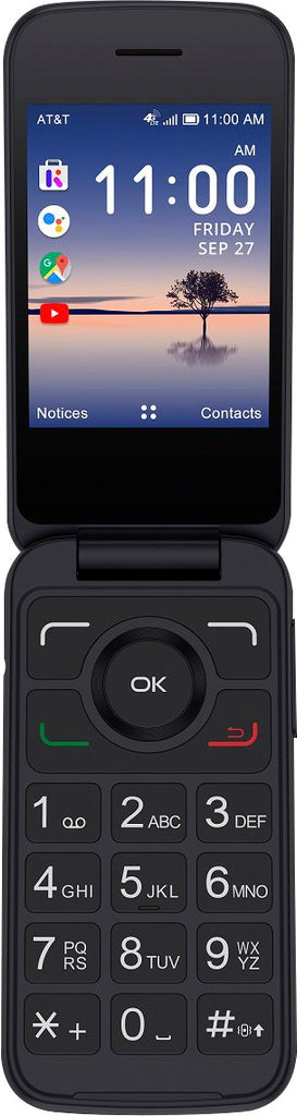 Alcatel MY FLIP 3 Prepaid Flip Phone AT&T Only