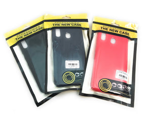 ACCESSORIES:TEXTURED SAMSUNG SILICONE CASES (A10, A20, A50)