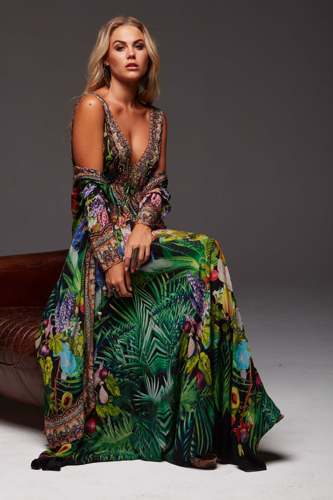 TROPICAL LOVE LONG JACKET