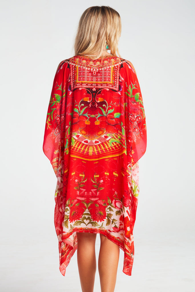 MORE THAN EVER SHORT KAFTAN W SLIT