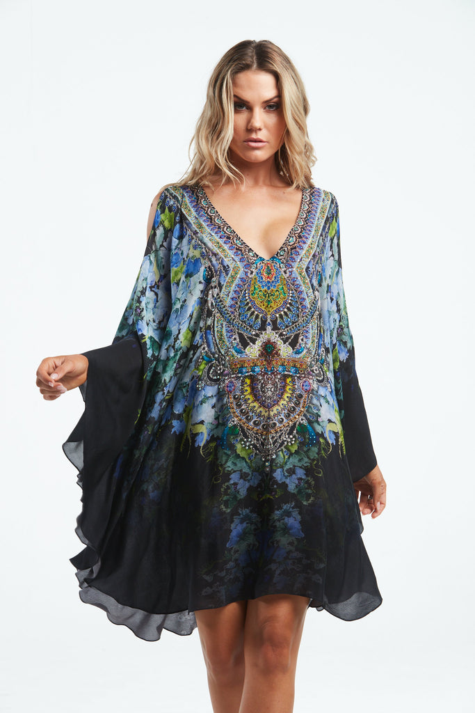 TRUE REFLECTIONS KAFTAN DRESS