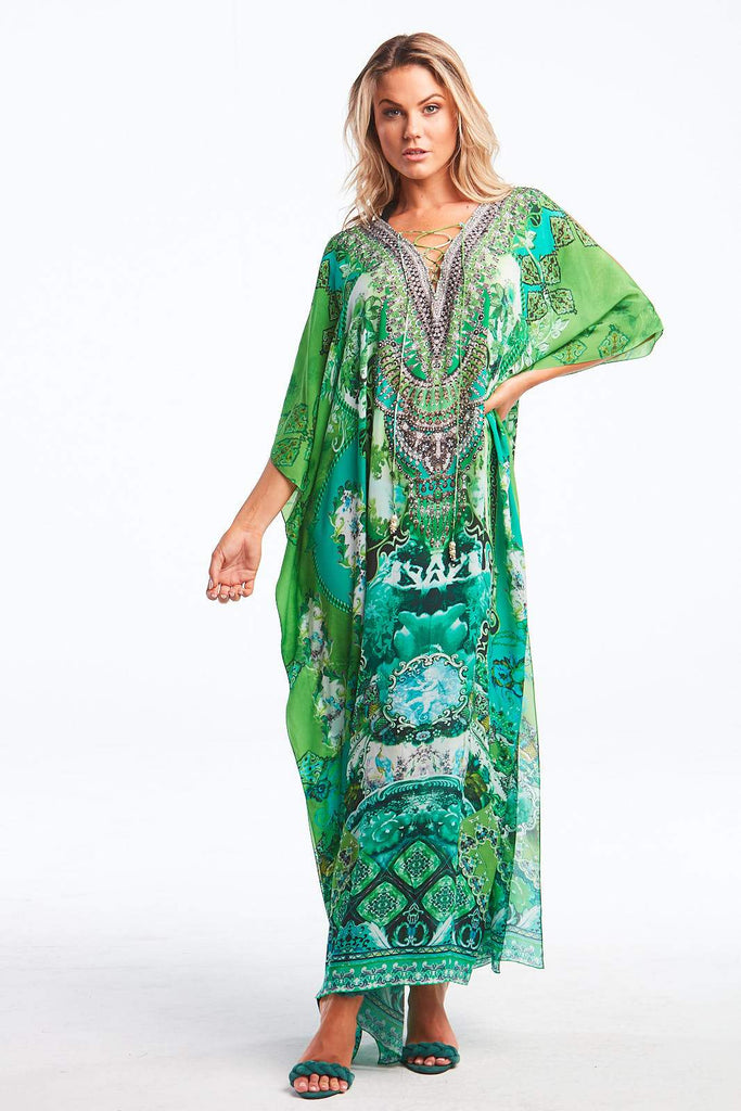 IT WAS ALWAYS YOU LONG KAFTAN W SLIT