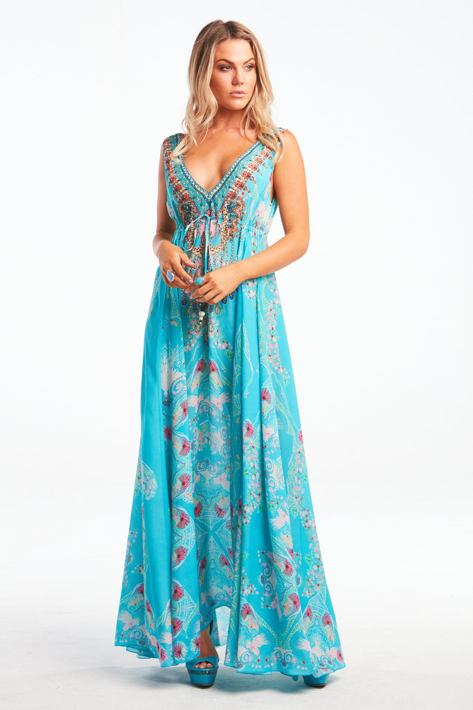 FEEL THE SKY MAXI DRESS