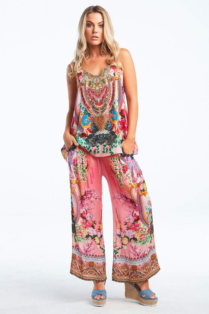 MORE THAN FRIENDS PALAZZO PANTS