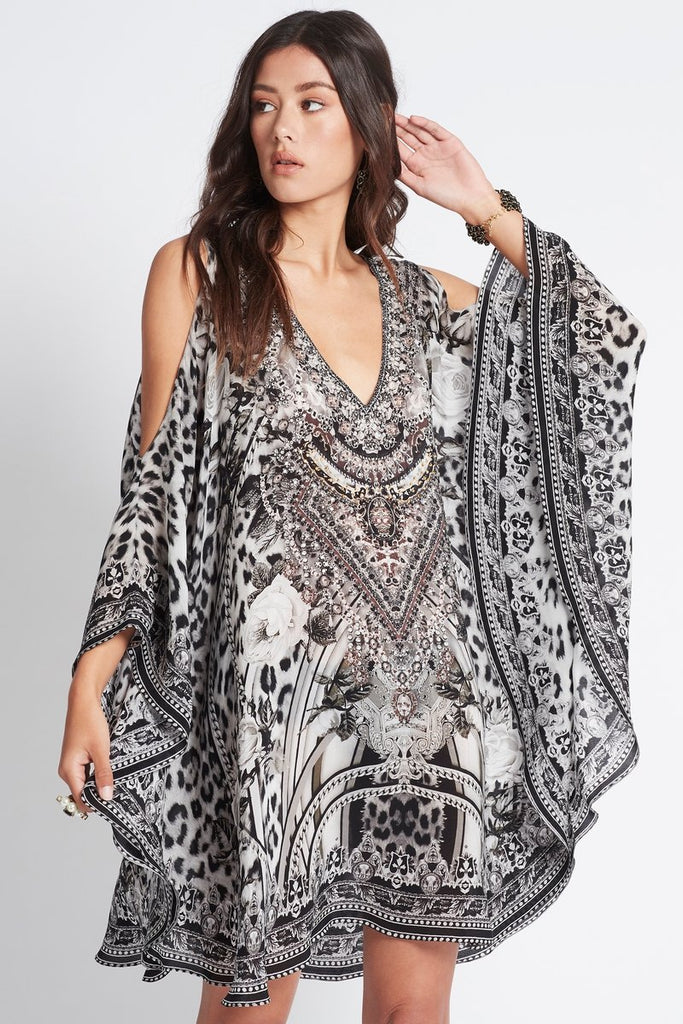WILD AT HEART KAFTAN DRESS