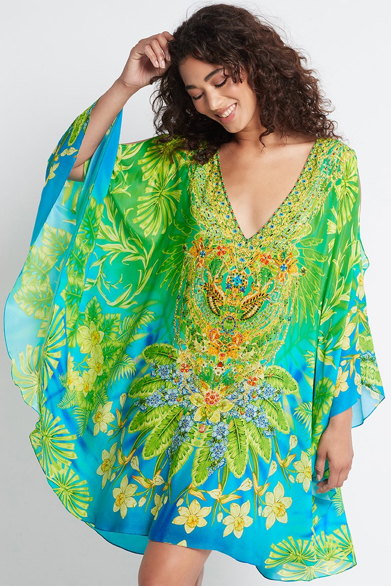 BETWEEN THE RAINDROPS KAFTAN DRESS