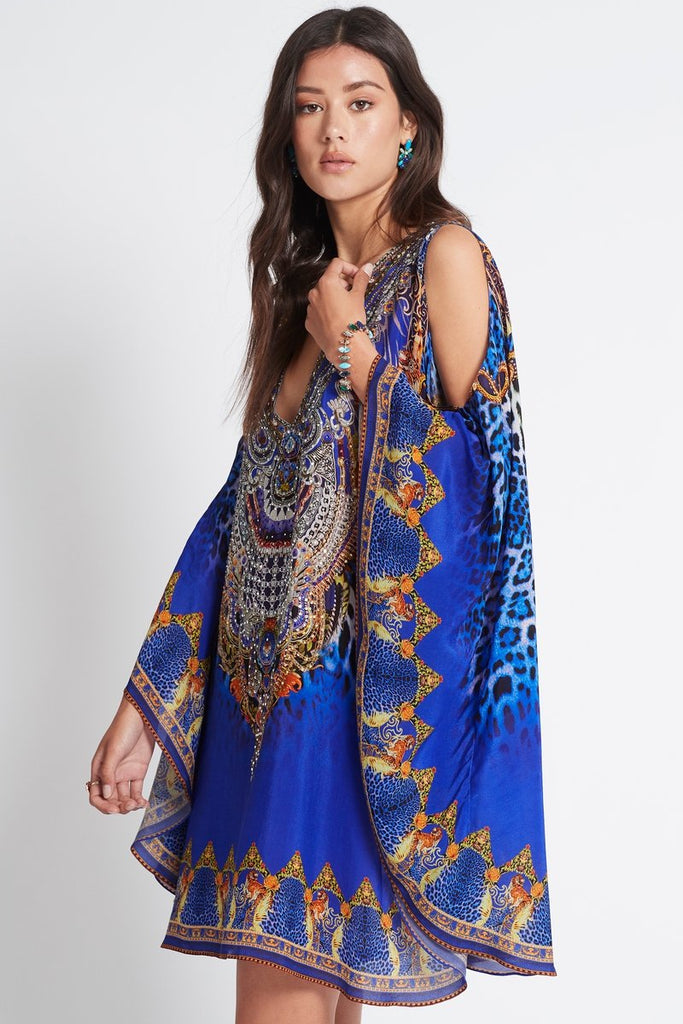ROYAL SAVANNAH KAFTAN DRESS