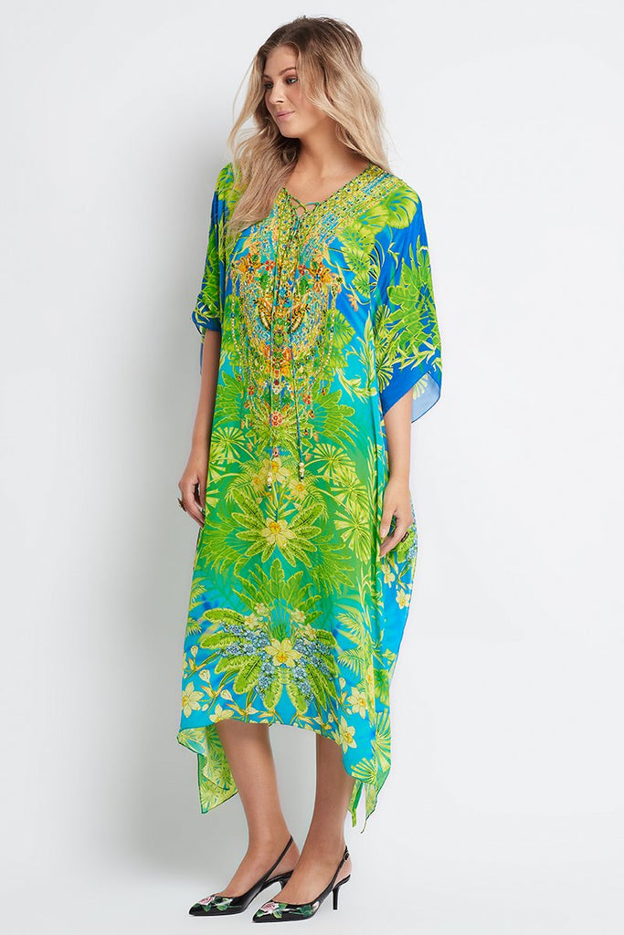 BETWEEN THE RAINDROPS MEDIUM KAFTAN