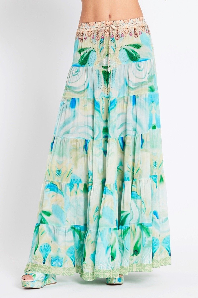 GARDEN OF EDEN MAXI SKIRT