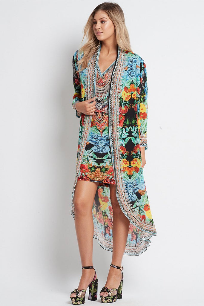 CUBAN NIGHTS LONG JACKET - Czarina