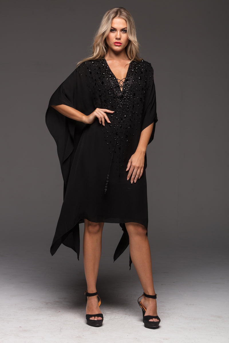 BROOKE LUXE SHORT KAFTAN