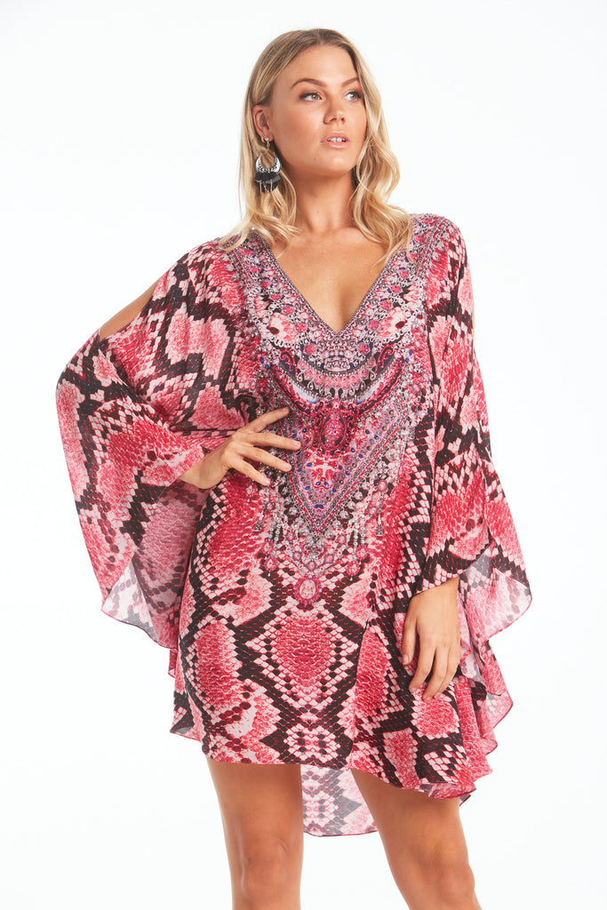 DESERT ROSE KAFTAN DRESS