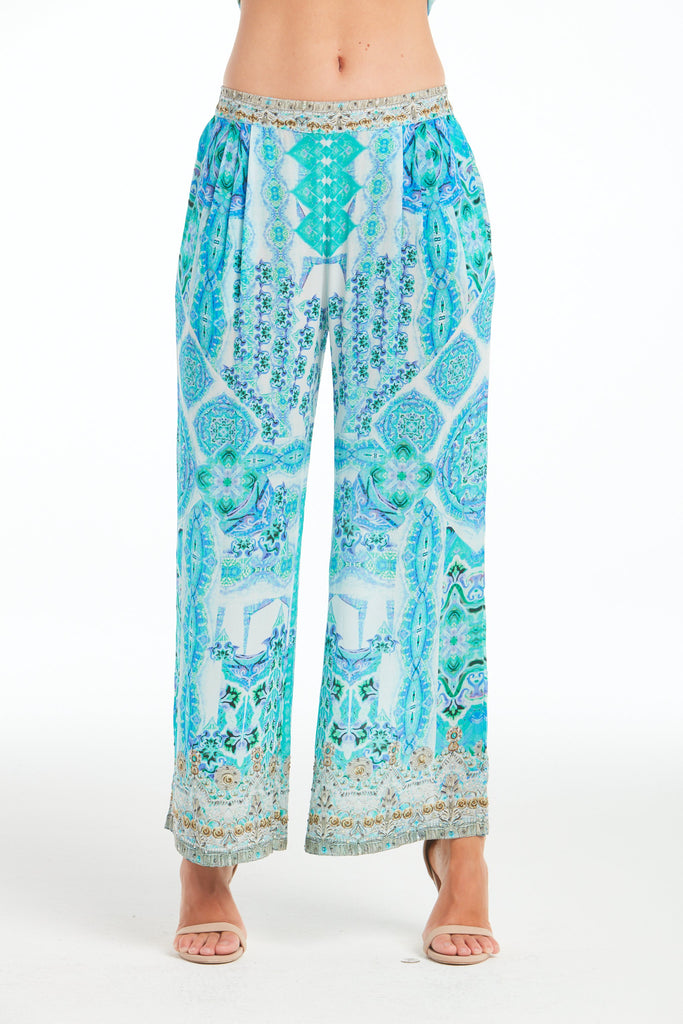 SHE'S A WILD FLOWER PALAZZO PANTS
