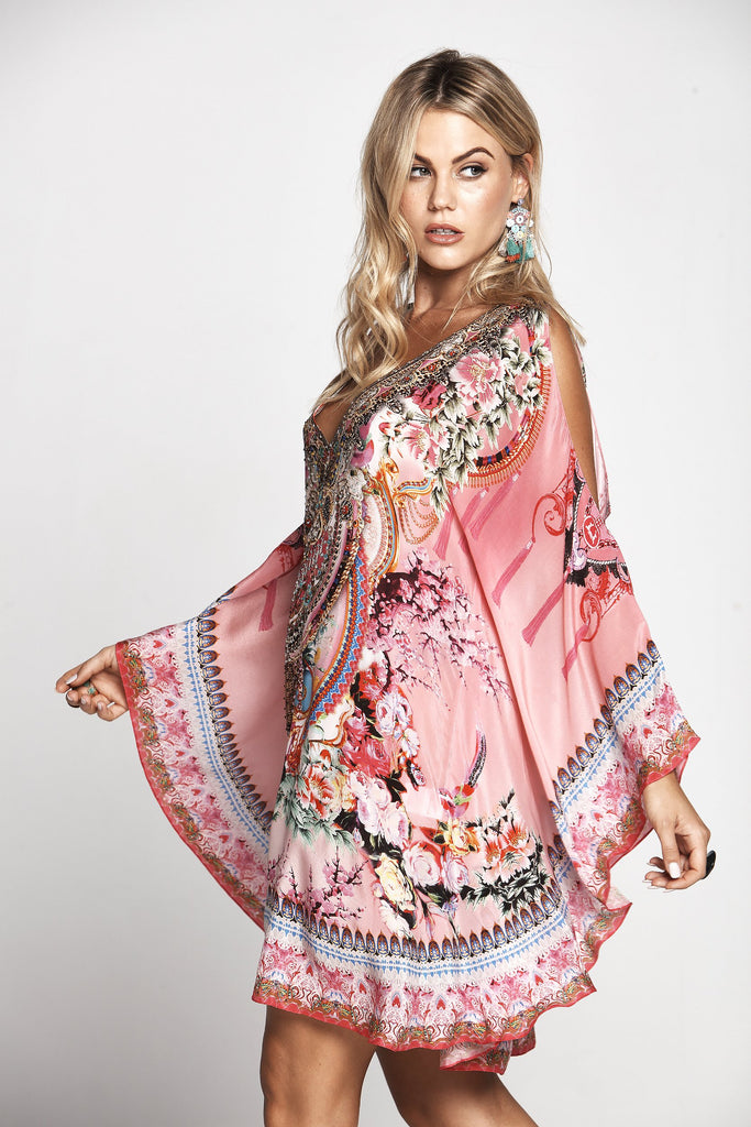 MORE THAN FRIENDS KAFTAN DRESS W SLIT