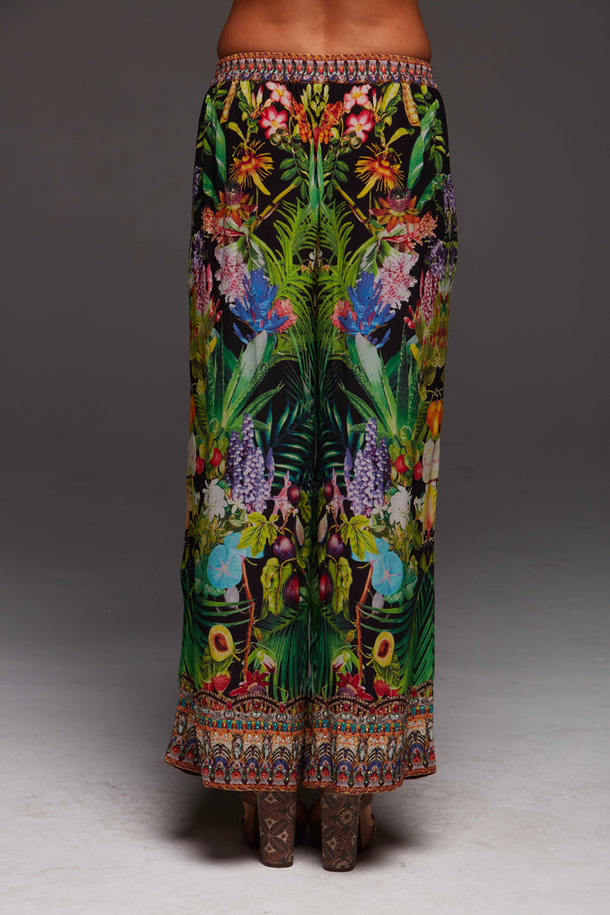 TROPICAL LOVE PALAZZO PANTS
