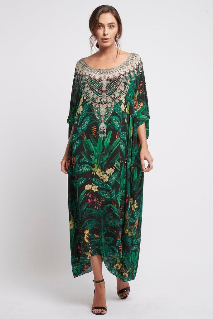 EMERALD QUEEN - RN LONG KAFTAN - Czarina
