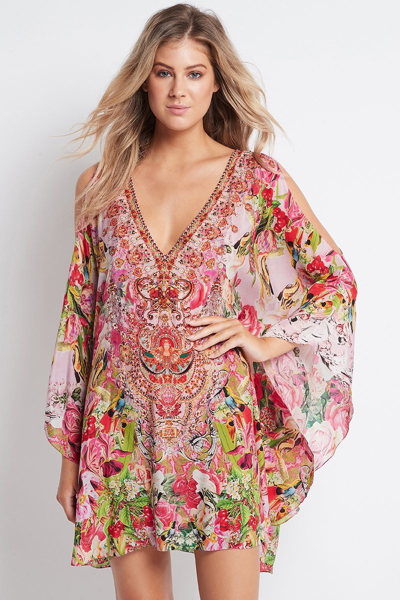 Every Flower Blossoms Kaftan Dress - Czarina