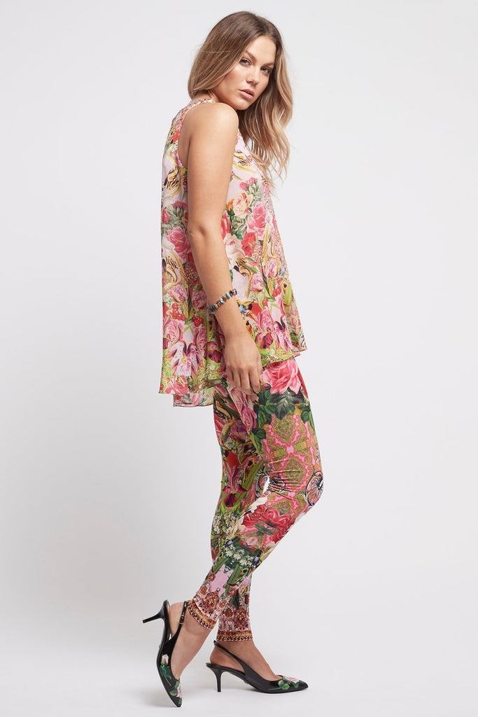 Every Flower Blossoms Leggings - Czarina