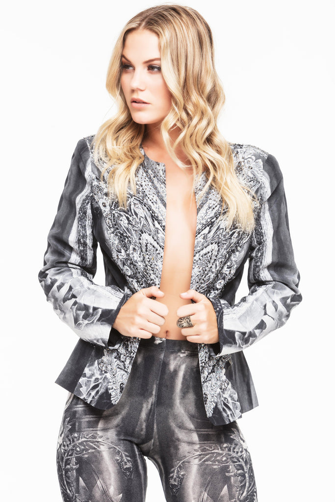 INCARNATE SILK JACKET
