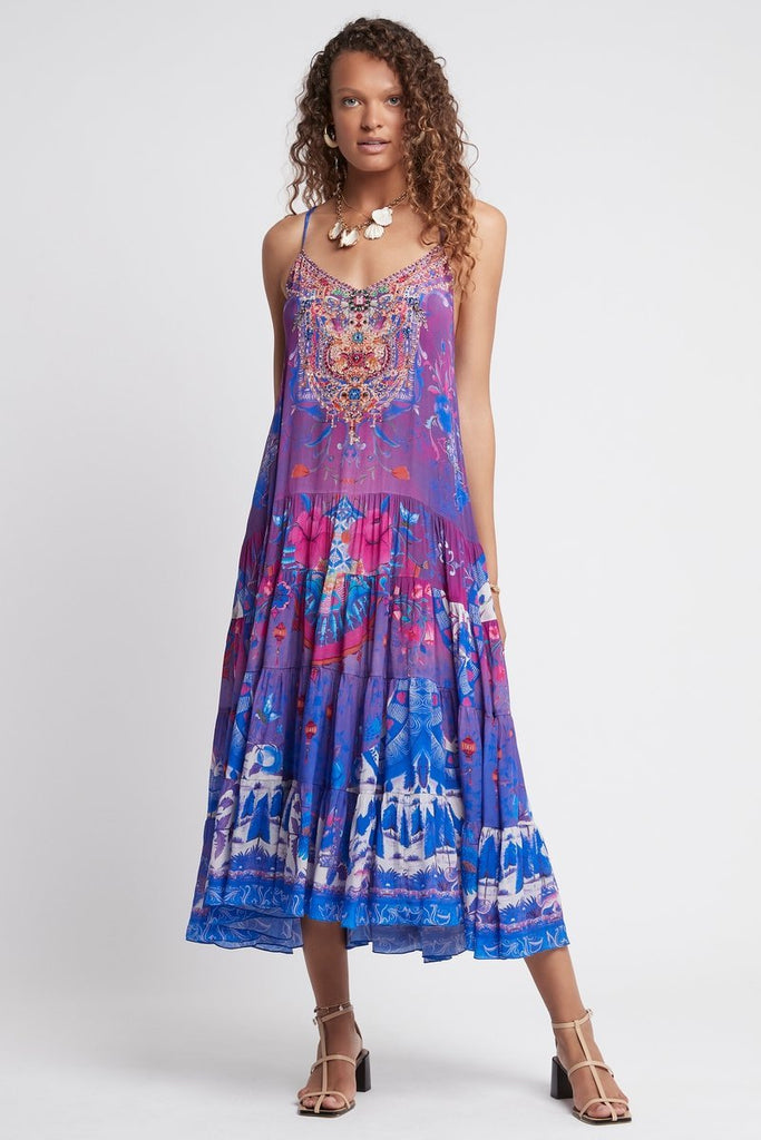 IT'S A FEELING MIDI BOHO DRESS - Czarina