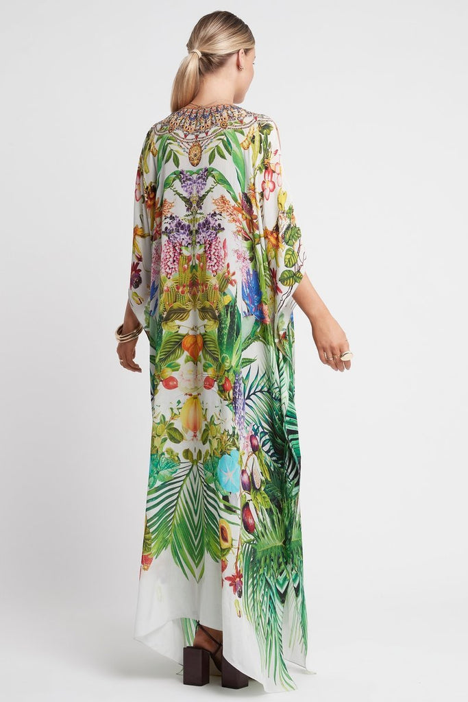 LOVE IN PARADISE LONG KAFTAN W SLIT - Czarina