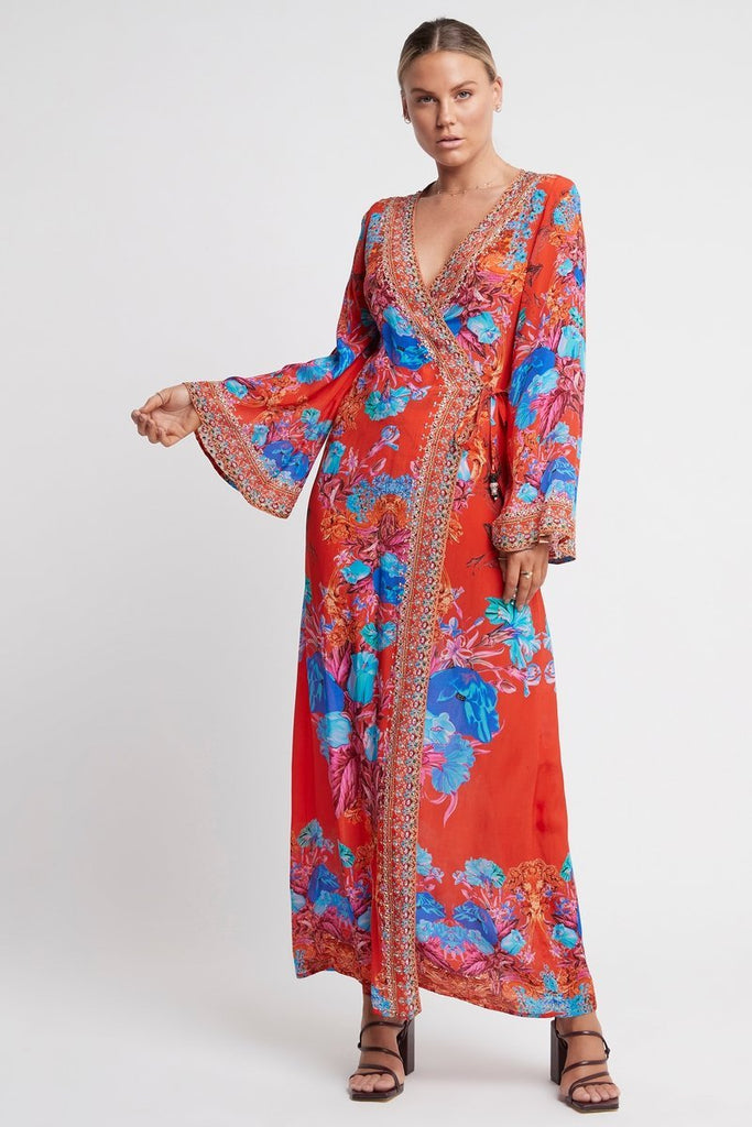 POWER OF LOVE WRAP DRESS - Czarina