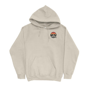 Inspired By Your Creation Beige Hoodie