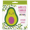 Avocado Pink Heart Phone Charger