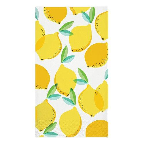Lemon Guest Towels