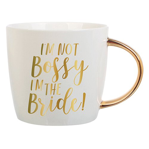 I'm Not Bossy/I'm The Bride! Coffee Mug