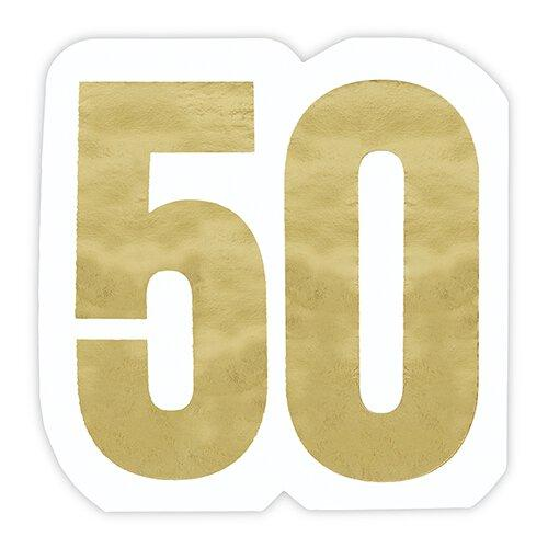 Jumbo Shaped Milestone Napkins