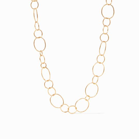 Colette Textured Necklace Gold
