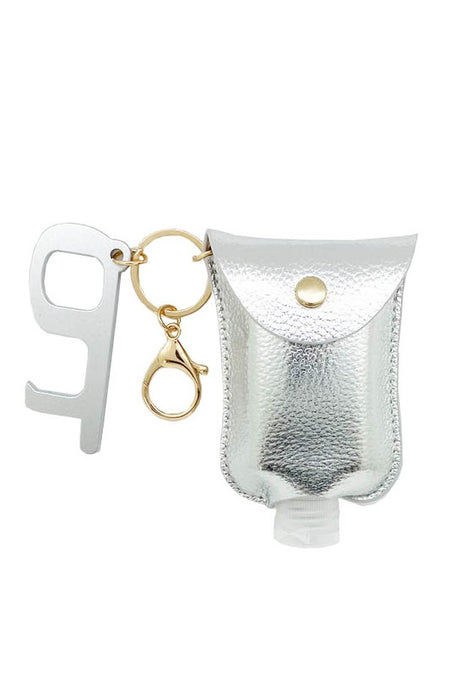 Keychain Door Opener and Hand Glamatizer