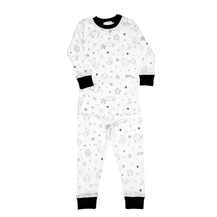 Moon and Stars Two Piece PJ