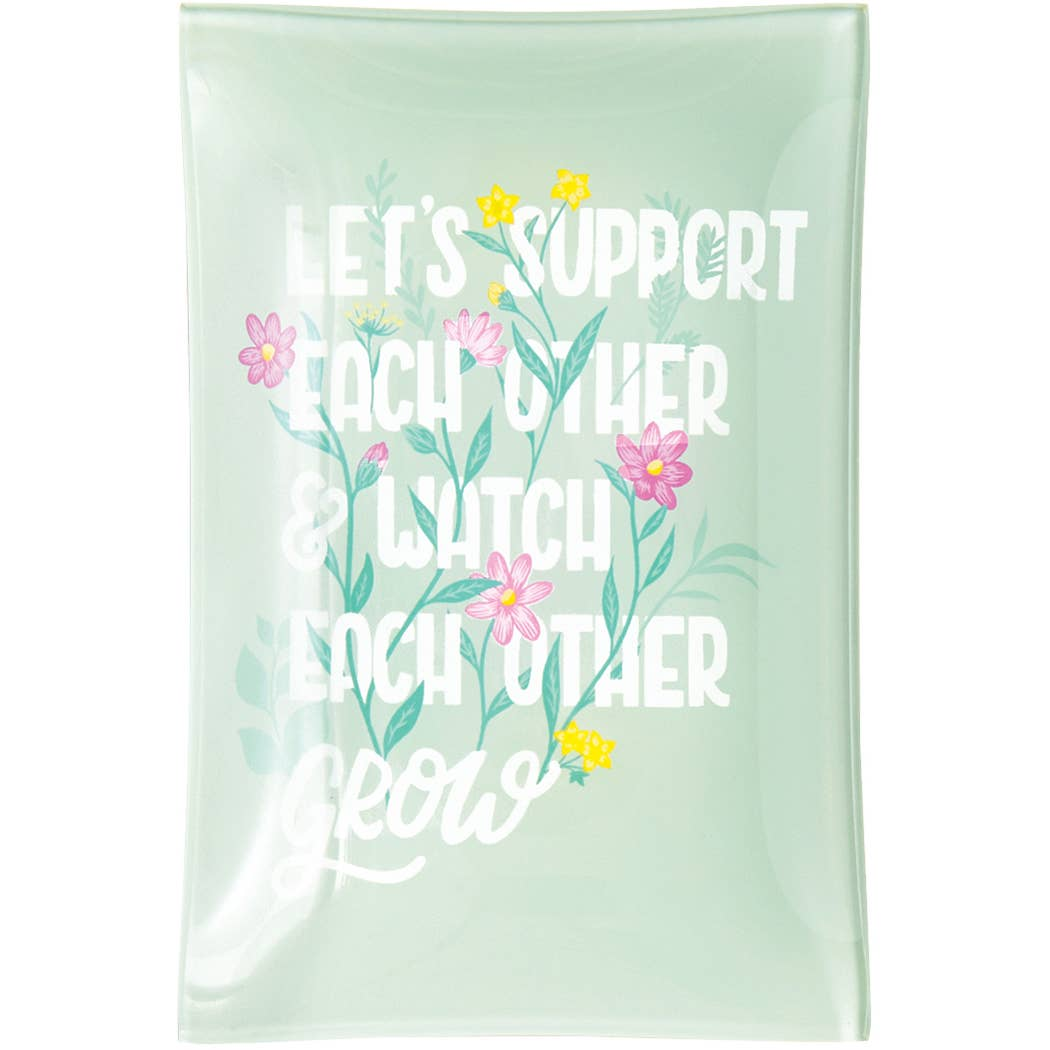 Support and Grow Trinket Dish
