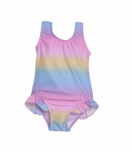 UPF 50+ Delaney Hip Ruffle Swimsuit