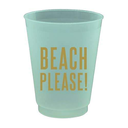 16ozprtycup-Beach Please 8Ct