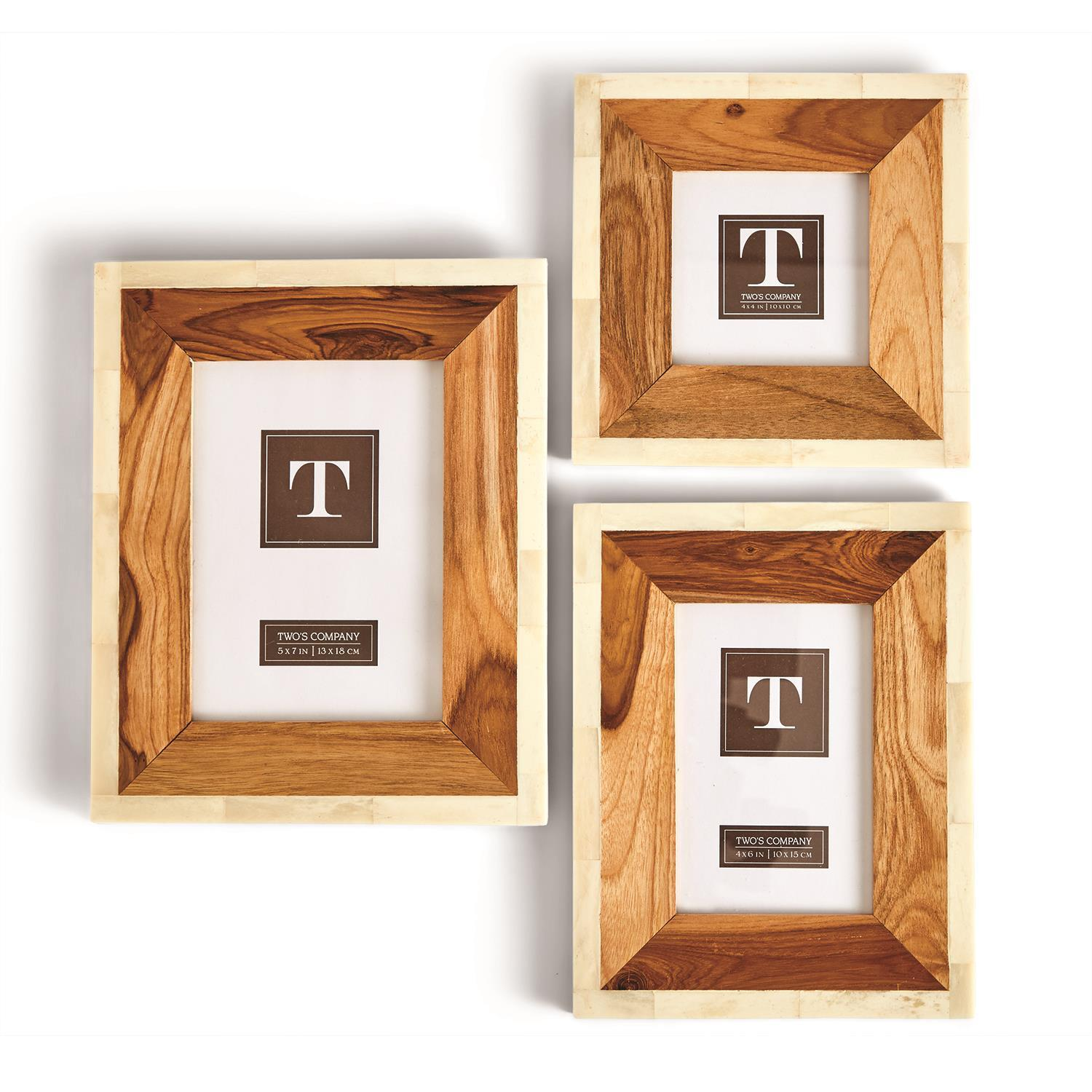 Wood and Bone Frames