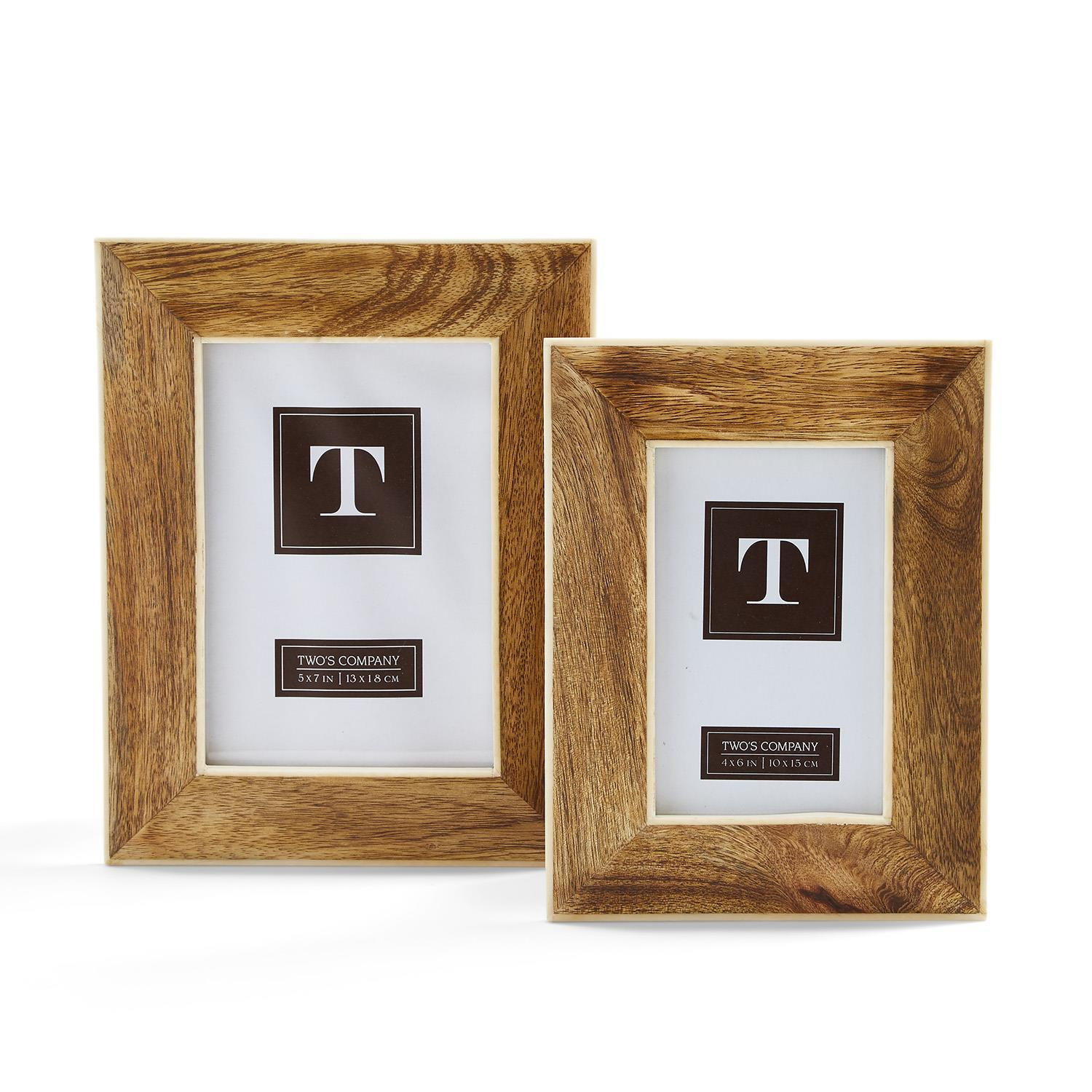 Natural View Wide Border Photo Frame
