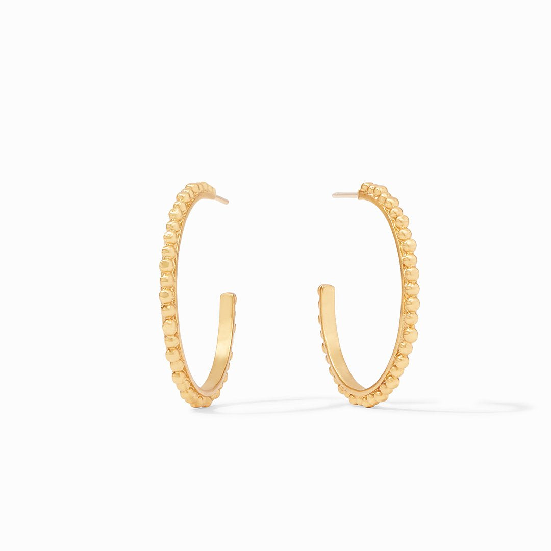 Colette Beaded Hoop - Medium