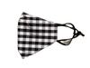 Plaid Adjustable Face Mask