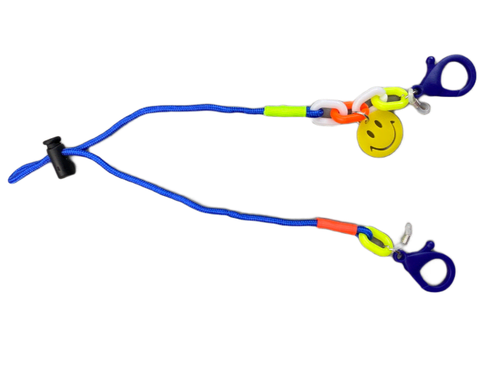 Face Mask or Glasses Lanyard with Smiley for Kids