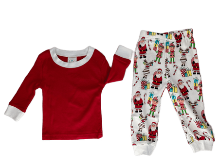 Two Piece Christmas Jammies - Christmas Print