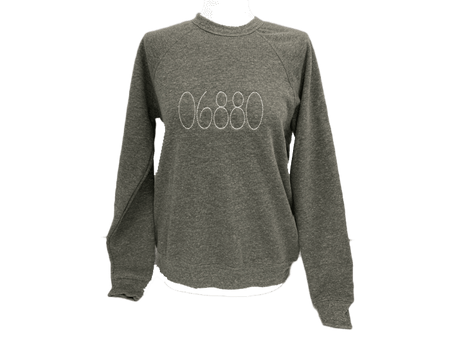 Super Soft Zip Code Crew Unixex Sweatshirt